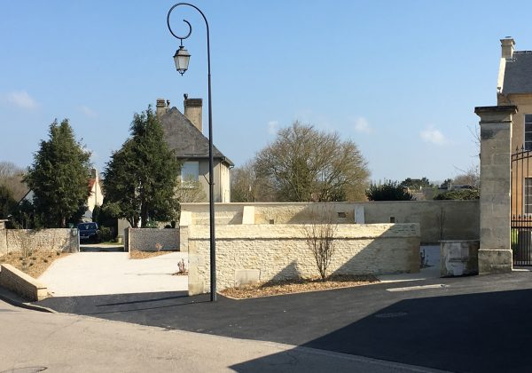 Requalification des abords de l'église Saint-Ouen